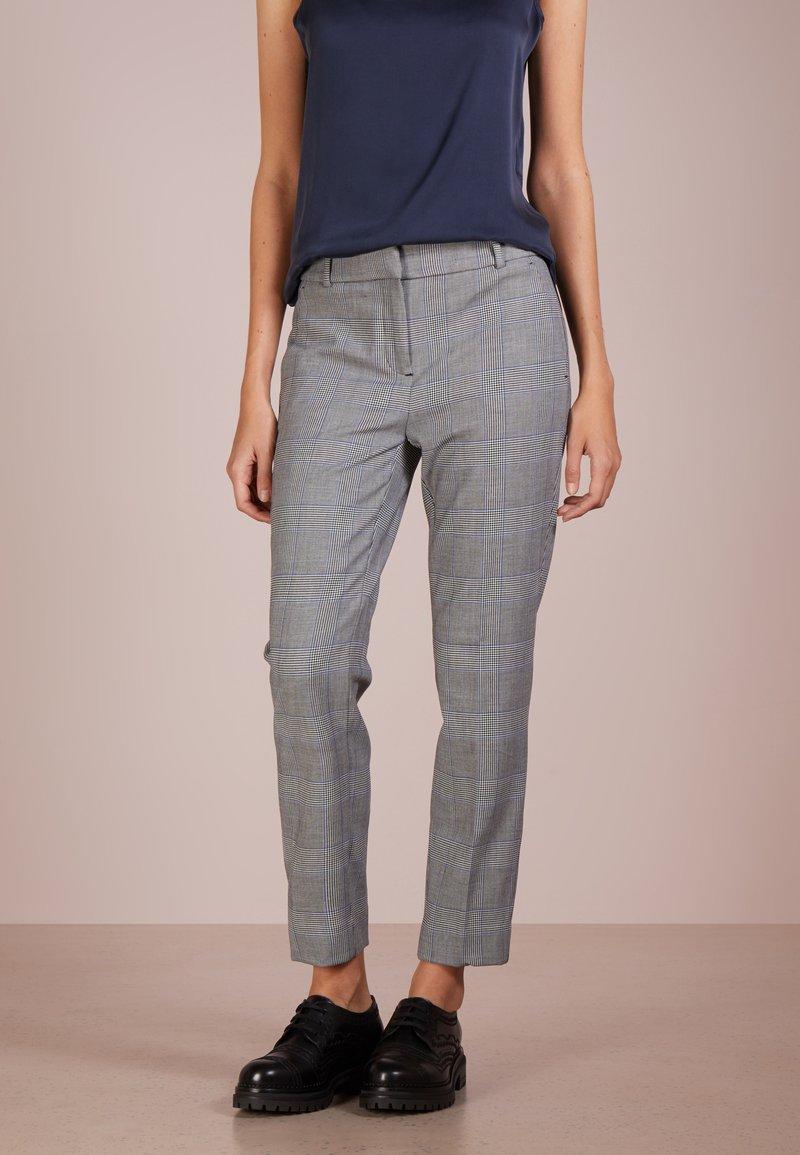 J.CREW - CAMERON PANT - Trousers - black/blue/ivory