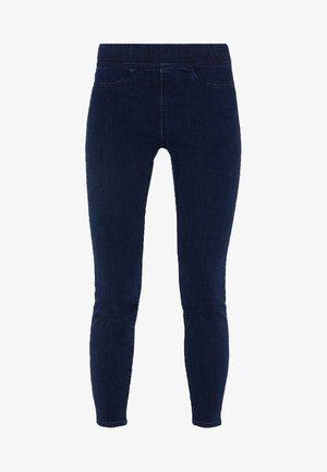 PULL ON   - Slim fit jeans - indigo