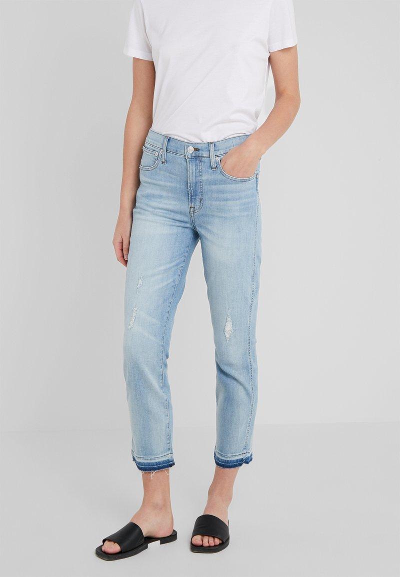 J.CREW - Jeans straight leg - blue denim