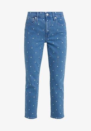 Straight leg -farkut - shale blue