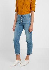 J.CREW - VINTAGE  - Straight leg jeans - sparkling sea wash - 0