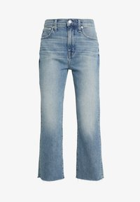 J.CREW - POINT SUR KICKOUT CROP  - Flared jeans - faded blue wash - 4