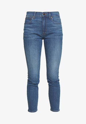 HIGH RISE TOOTHPICK - Jeans Skinny Fit - steel blue wash