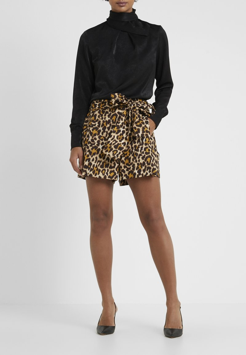 J.CREW - PAPER BAG - Shorts - amber/black