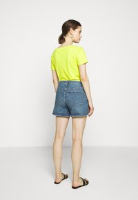 J.CREW - HIGH RISE - Denim shorts - medium faded indigo - 2
