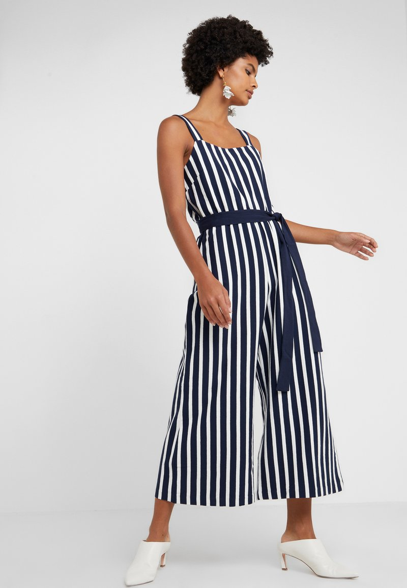 J.CREW - JAPANESE WAIST TIED - Jumpsuit - navy
