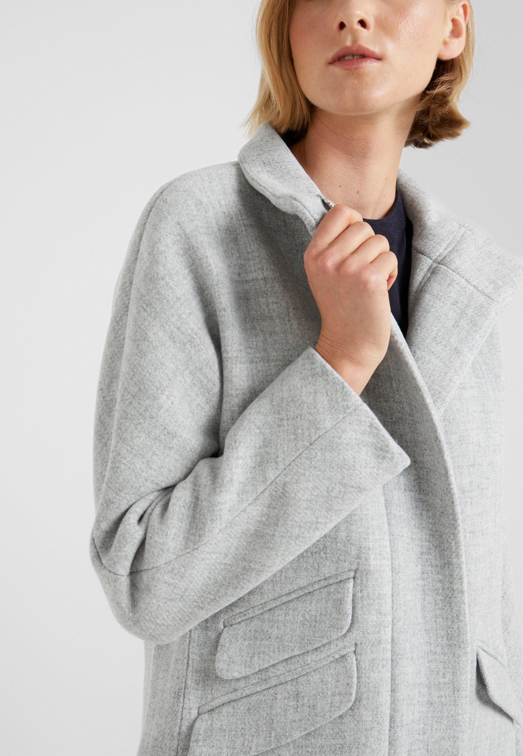 J.CREW COCOON COAT - Płaszcz wełniany /Płaszcz klasyczny - grey