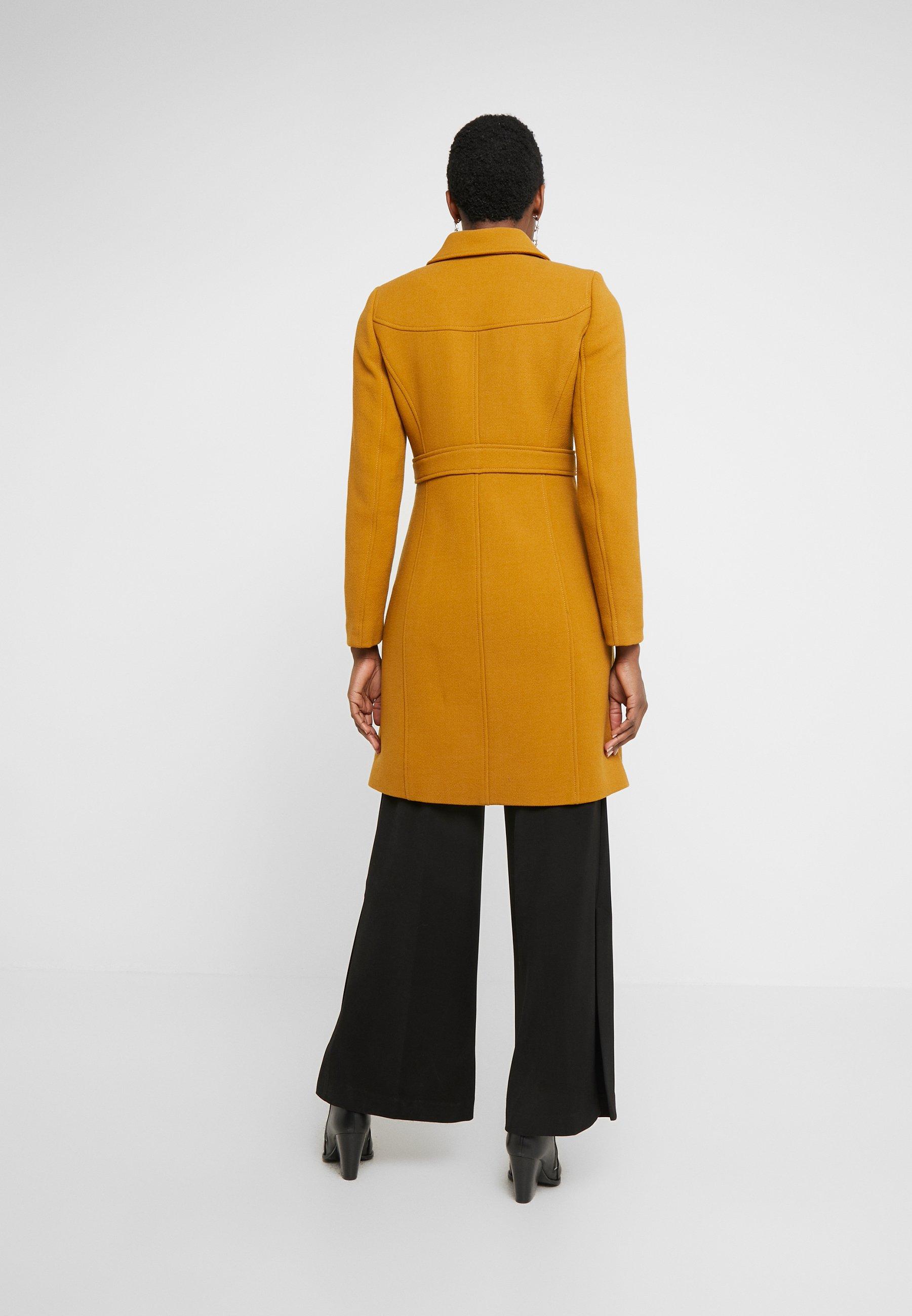 J.CREW LADY DAY UPDATE - Płaszcz wełniany /Płaszcz klasyczny - dark amber