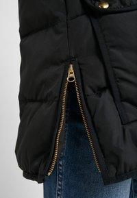 J.CREW - CHATEAU PUFFER - Zimní kabát - black - 7