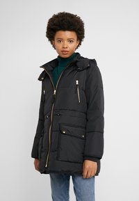 J.CREW - CHATEAU PUFFER - Zimní kabát - black - 0