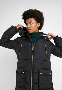 J.CREW - CHATEAU PUFFER - Zimní kabát - black - 5