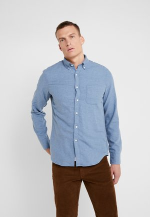 SLIM FIT - Camisa - denim blue heather