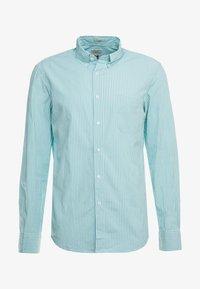 J.CREW - STRETCH SECRET WASH GINGHAM - Camisa - blue - 3