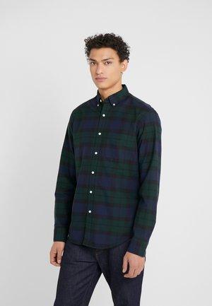 MECH STRETCH KANSAS PLAID SLIM - Košile - green/black