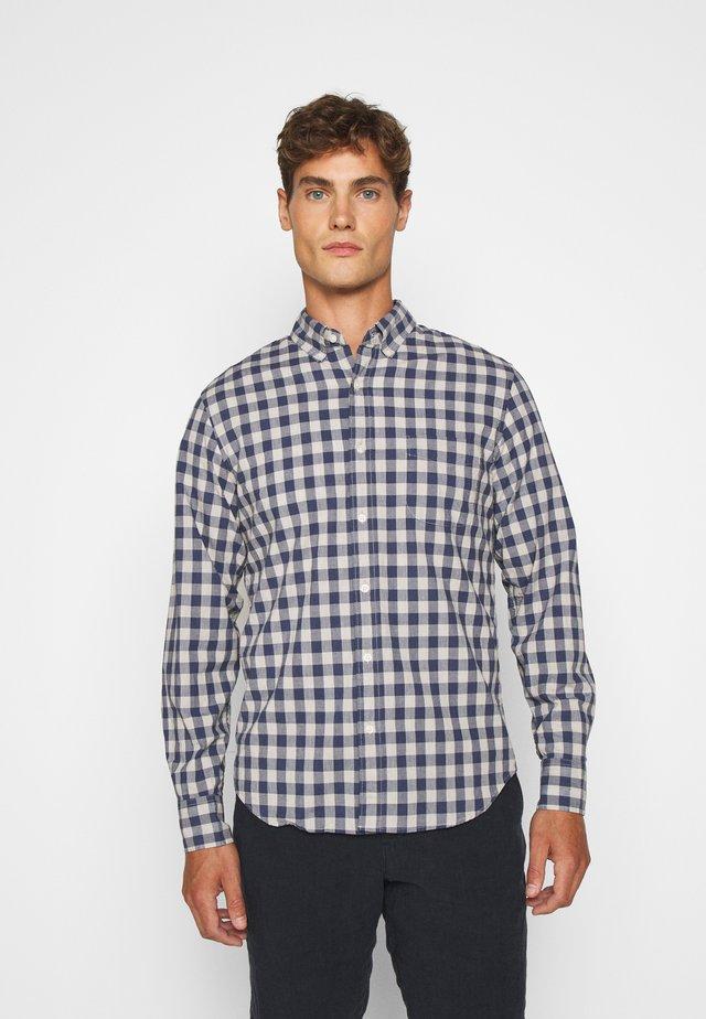WASH HEATHER - Skjorter - grey/blue
