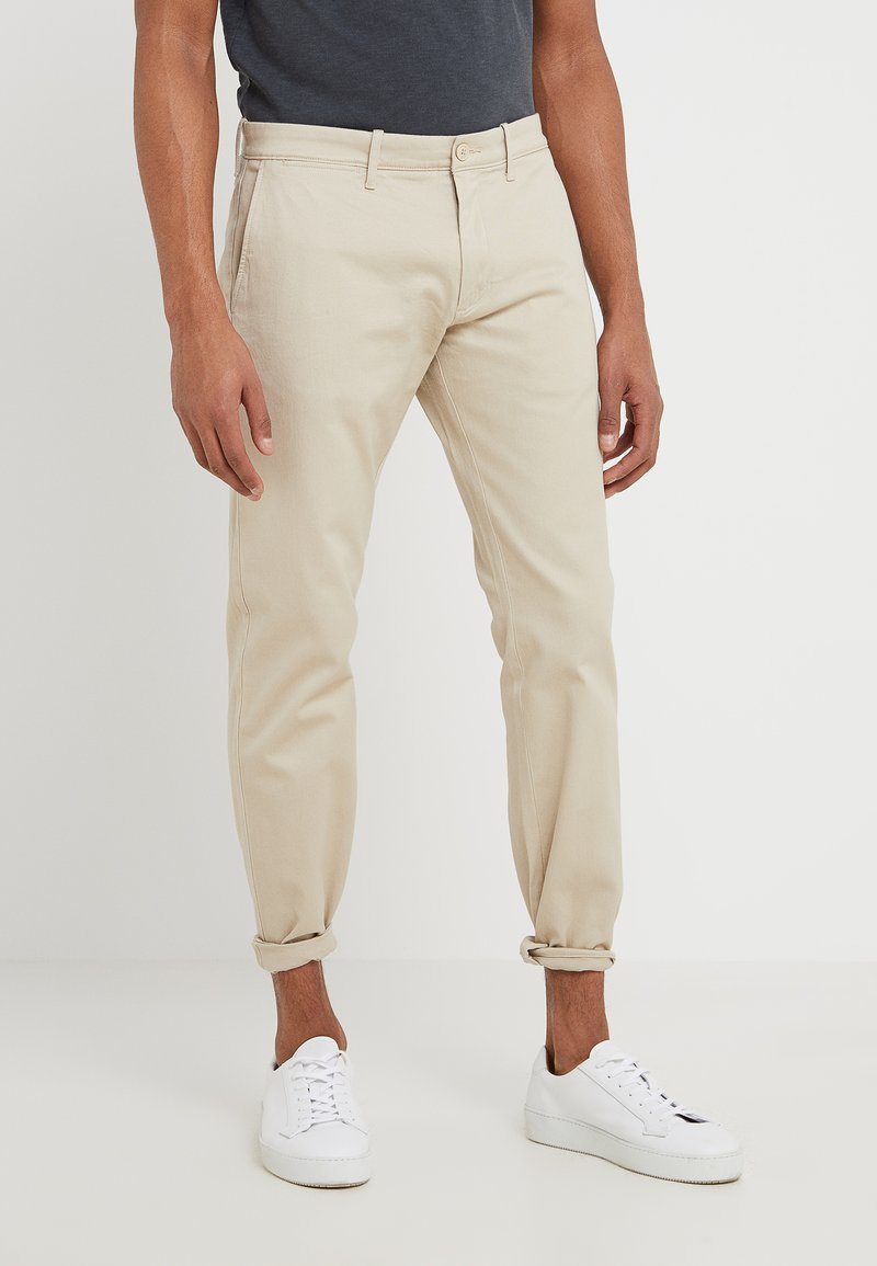 J.CREW - PANT STRETCH - Trousers - beige