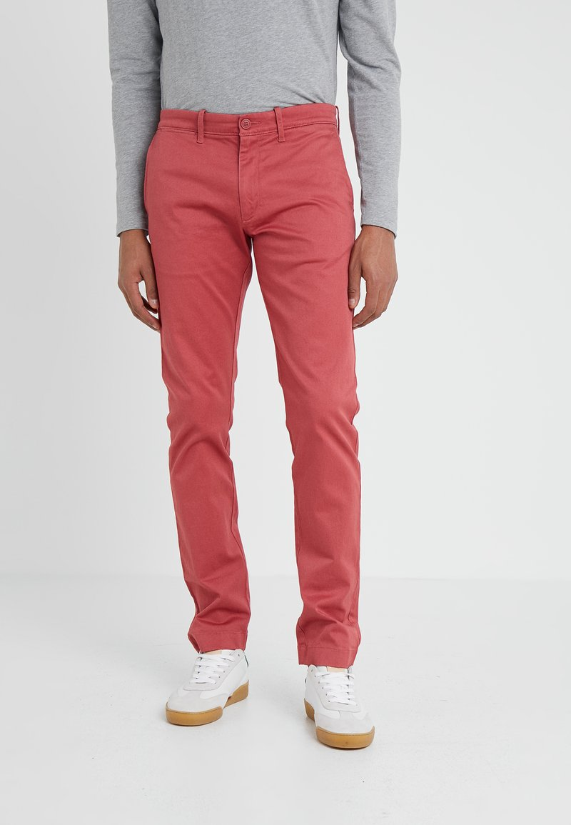 J.CREW - PANT STRETCH - Stoffhose - old red