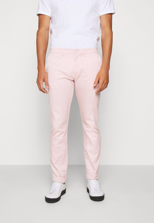 MENS PANTS - Chinos - pink cloud