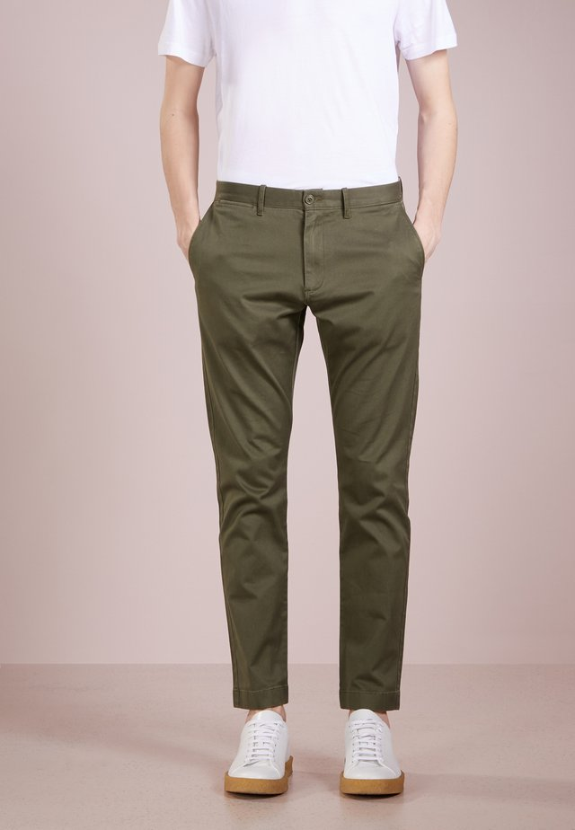 MENS PANTS - Chinos - catskill green