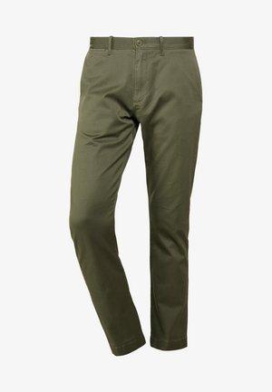 PANT STRETCH - Pantaloni - catskill green