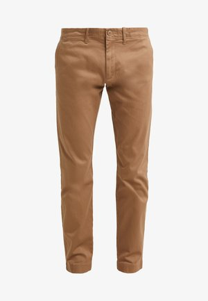 PANT STRETCH - Kangashousut - river brown
