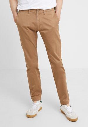 PANT STRETCH - Spodnie materiałowe - river brown