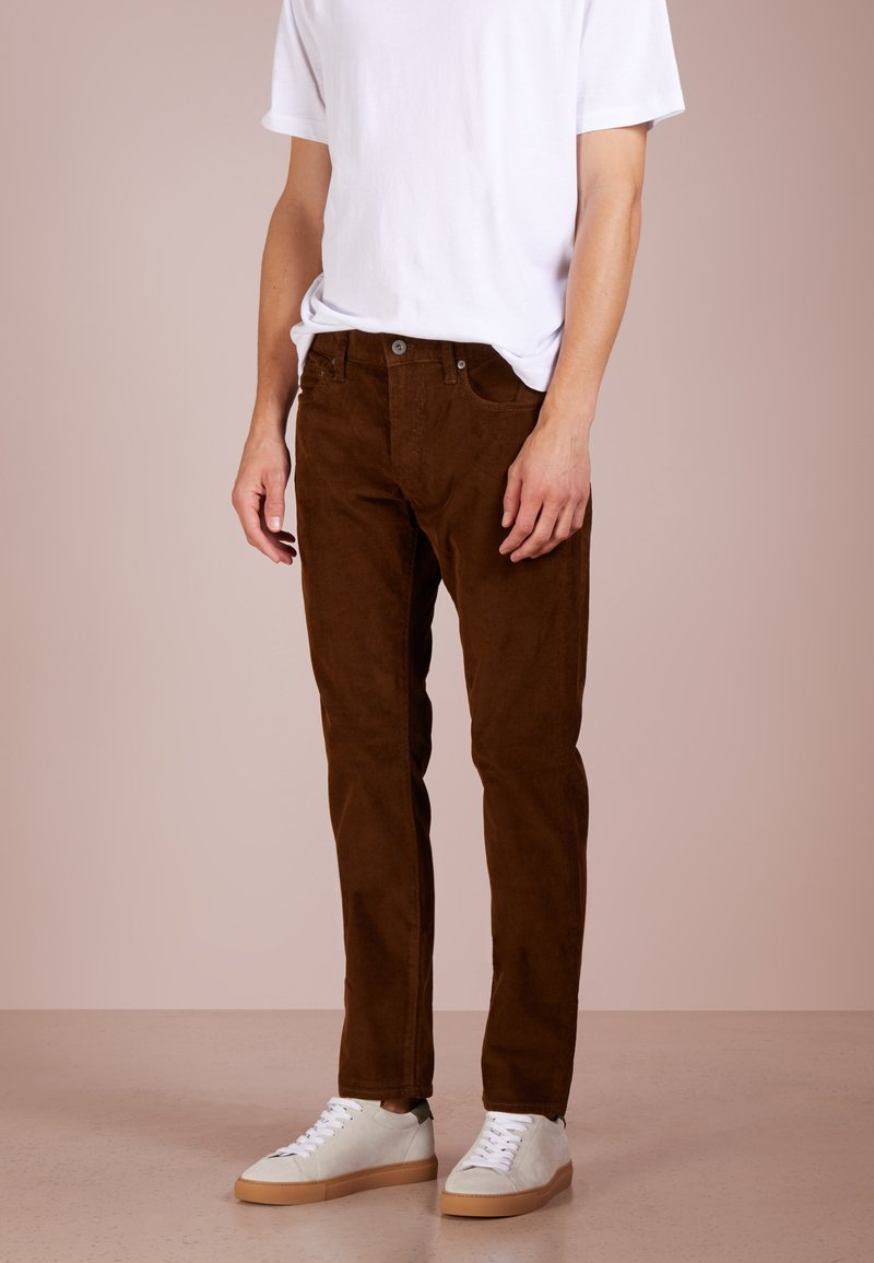 J.CREW - Tygbyxor - warm brown