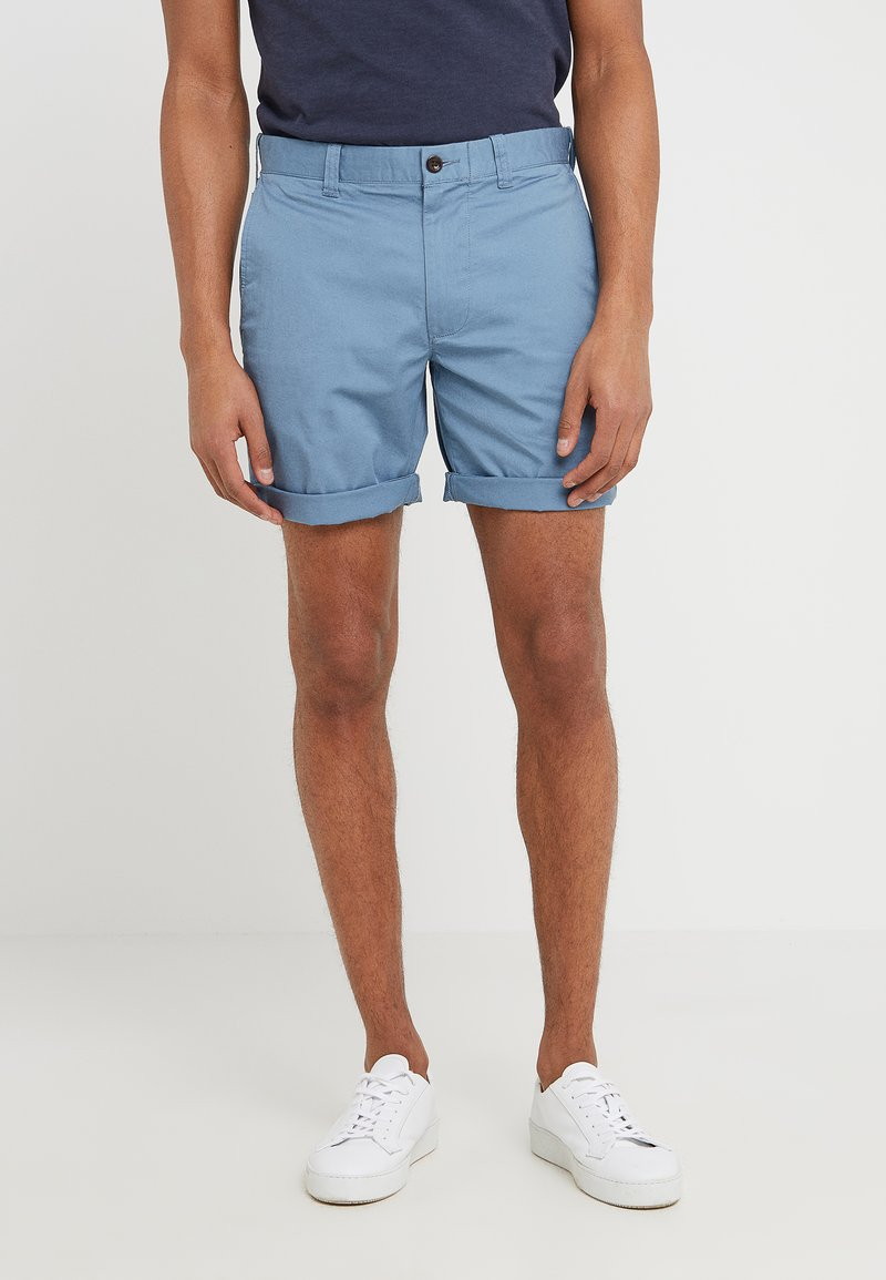J.CREW - STRETCH STANTON - Shorts - shoreline blue