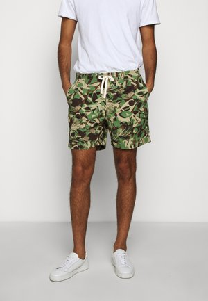 DOCK JUNGLE LEAF - Shorts - green khaki
