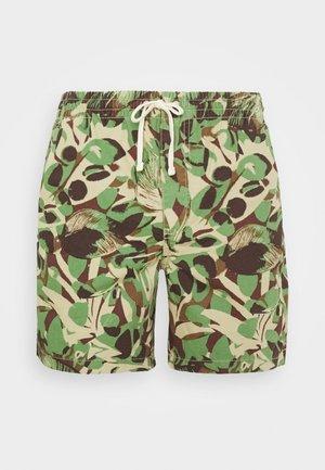 DOCK JUNGLE LEAF - Szorty - green khaki