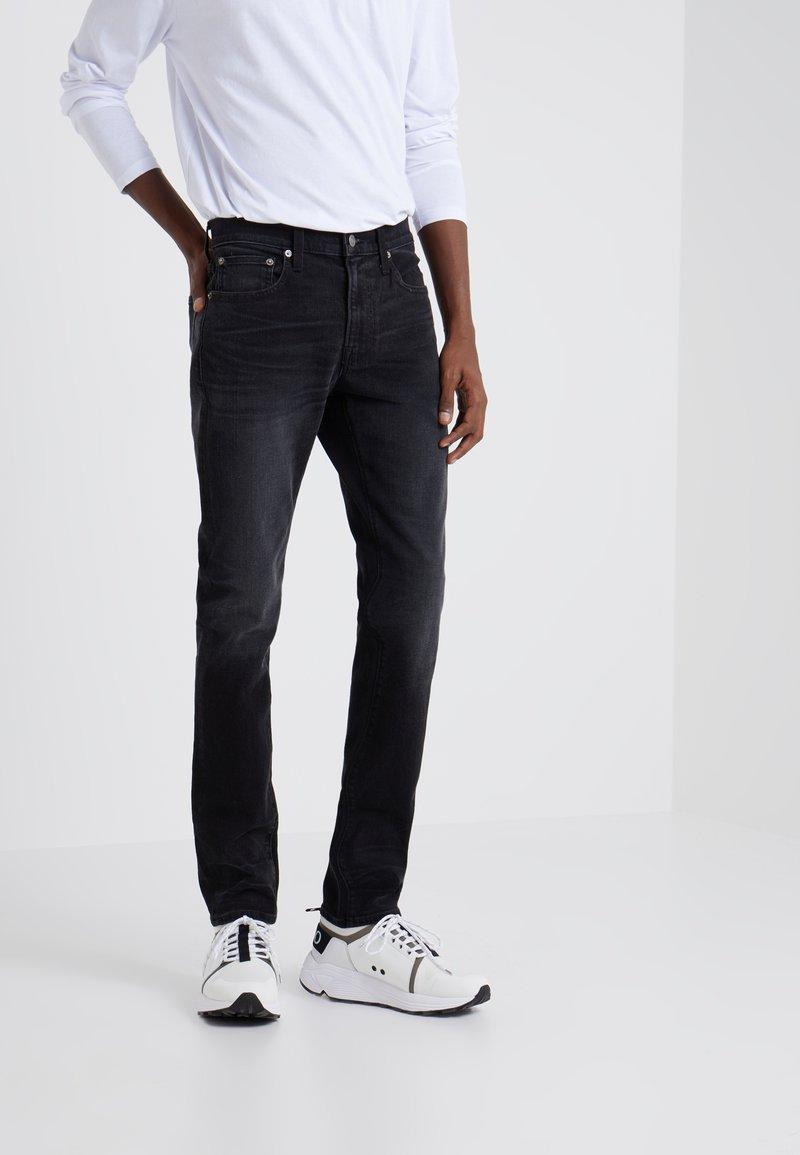 J.CREW - STRETCH WASHED BLACK - Jeans Slim Fit - washed black