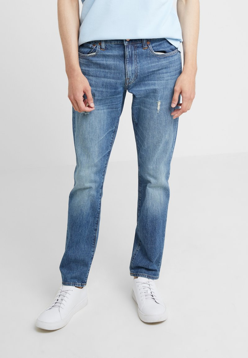J.CREW - Jeans Slim Fit - tinted medium indigo wash