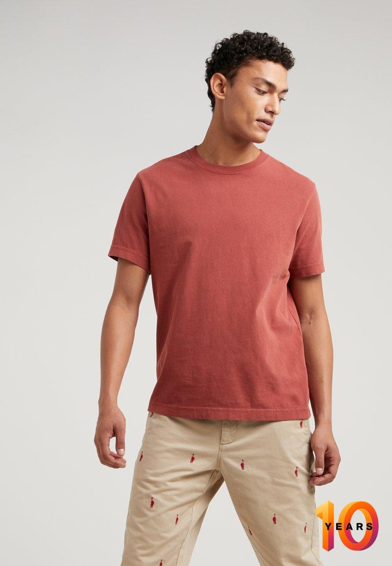 J.CREW - VINTAGE TEE - T-shirt basique - brick red