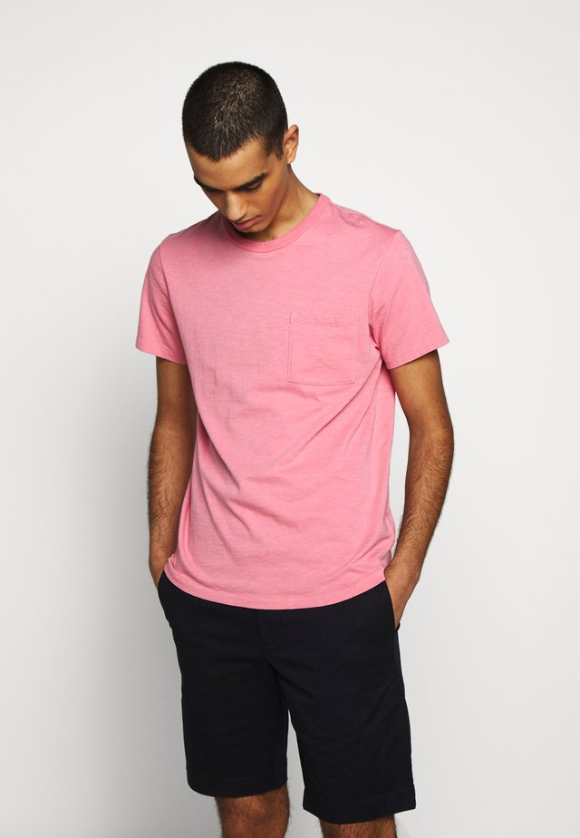 GARMENT DYE TEE - Basic T-shirt - flamingo