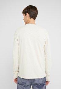 J.CREW - SLUB HENLEY - Långärmad tröja - white - 2