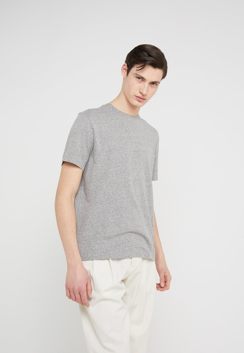 J.CREW - TRI BLEND CREW - Camiseta básica - heather grey mix