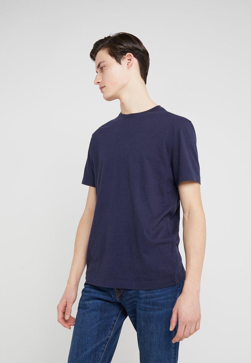 J.CREW - TRI BLEND CREW - Basic T-shirt - navy