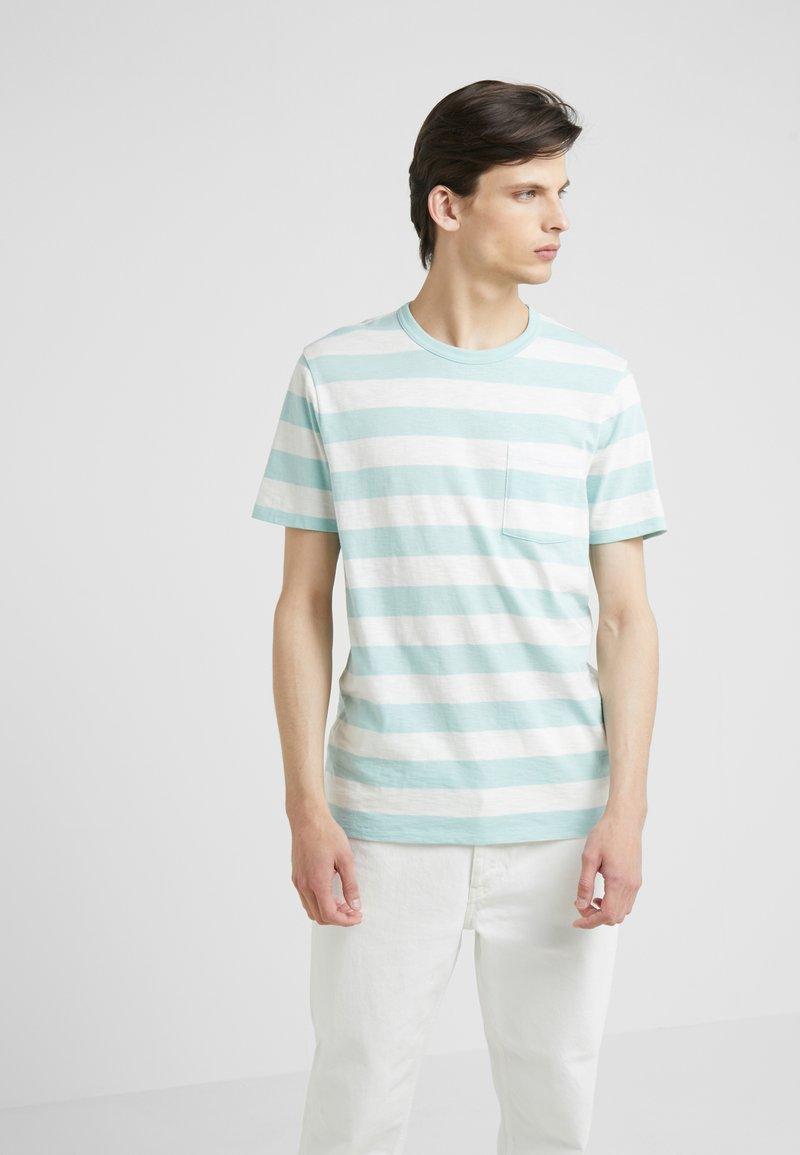 J.CREW - DAVIS SLUB TEE - T-Shirt print - pale mint