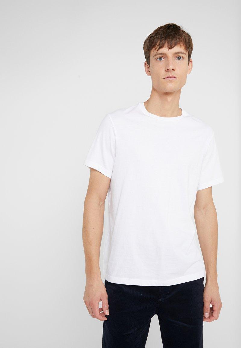 J.CREW - BROKEN IN CREW - T-shirt - bas - white
