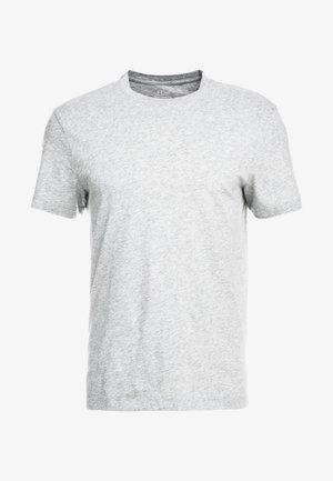 BROKEN IN CREW - T-shirts - heather grey