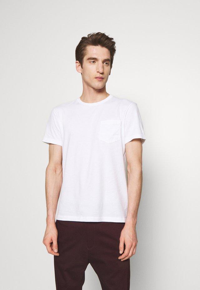BROKEN IN CREW - T-shirt basique - white