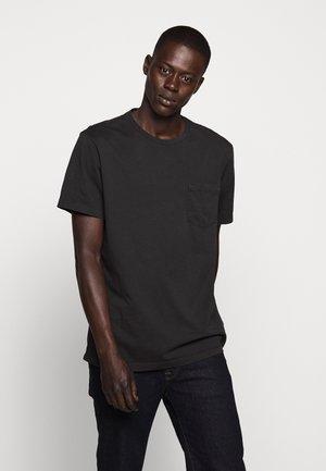 BROKEN IN CREW - Basic T-shirt - black