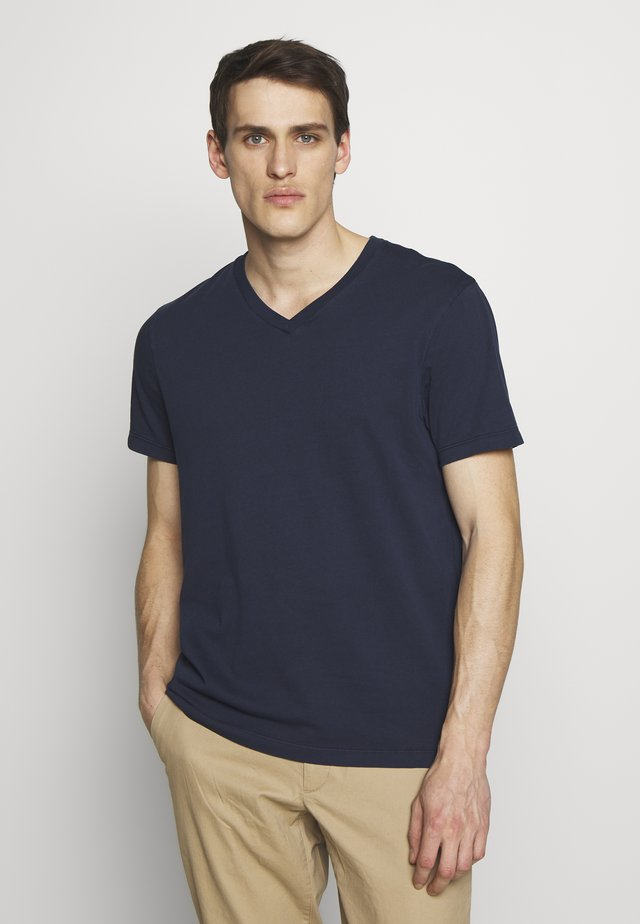 BROKEN - Basic T-shirt - navy