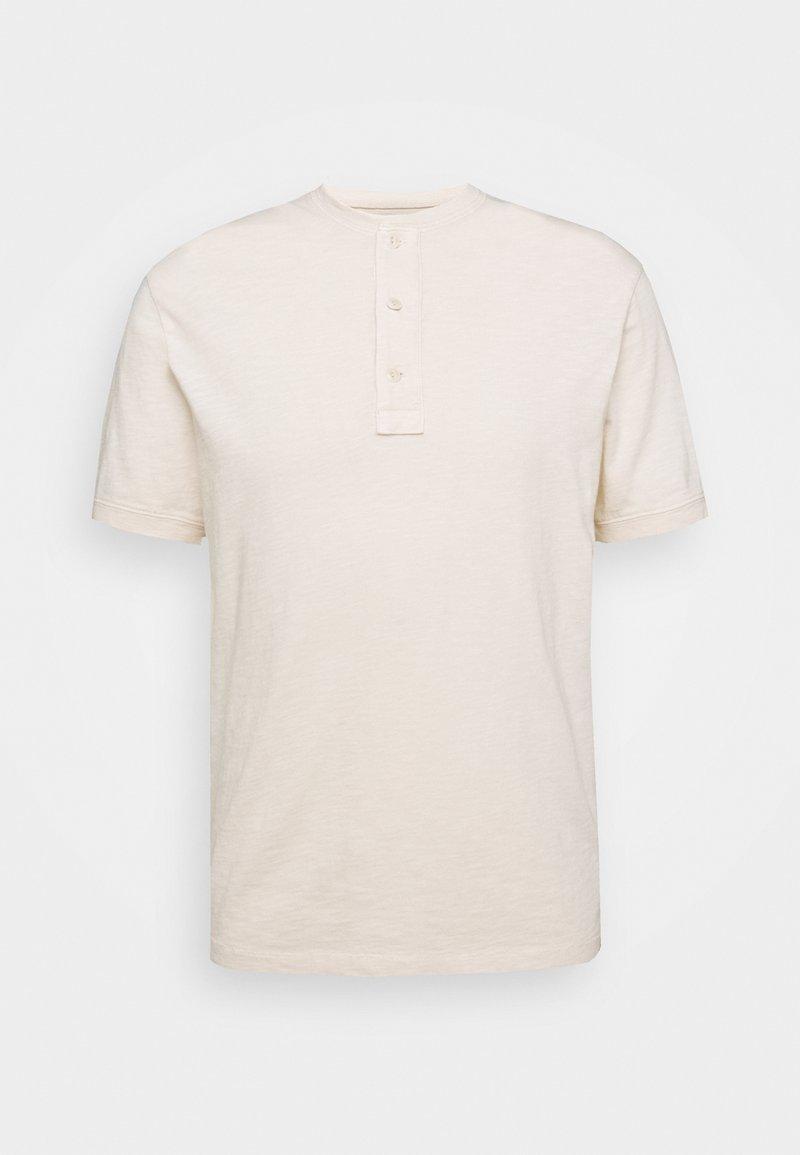 J.CREW - GARMENT DYE HENLEY - T-Shirt basic - natural