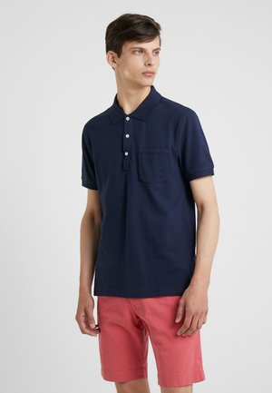 SLIM STRETCH - Polo - navy