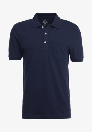 SLIM STRETCH - Poloshirt - navy