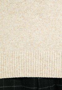 J.CREW - TUBULAR DETAIL CREW - Jumper - marled barley - 6