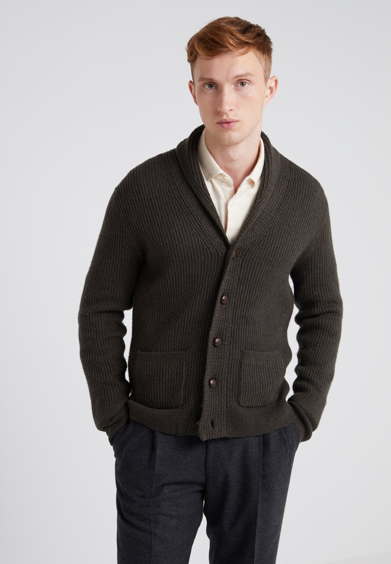 J.CREW - SHAWL - Cardigan - heather surplus