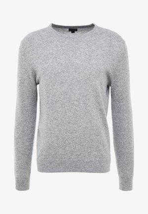 CREW - Stickad tröja - heather grey