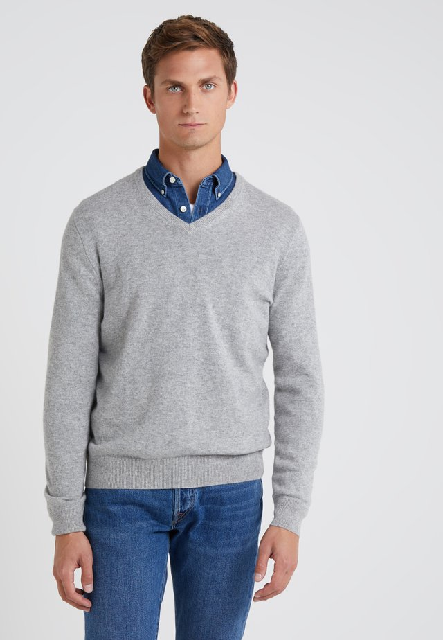 SOLID EVERYDAY CASH - Sweter - grey